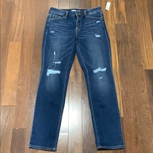 Power straight jeans